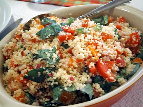 Authentic Mediterranean Couscous